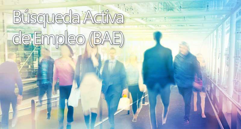 Búsqueda activa de Empleo (BAE)