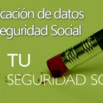 ¿Cómo cambiar mis datos de la seguridad social?
