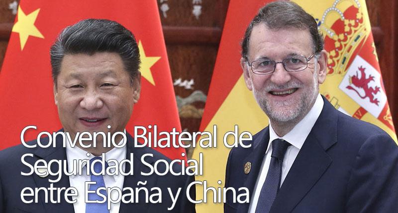 Convenio Seguridad Social entre España y China
