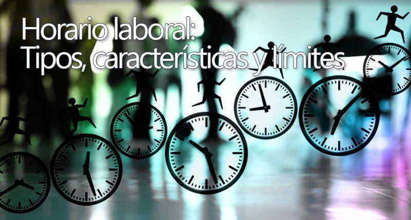 El horario laboral