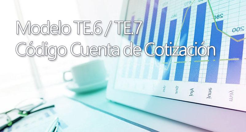Modelos TE.6 y TE.7