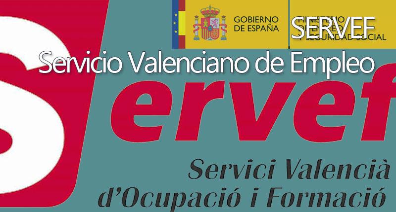 servef - Servicio público de empleo valenciano