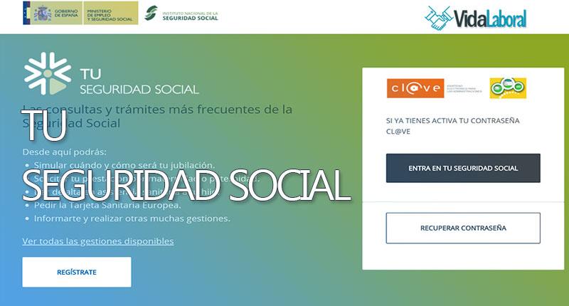 Tu seguridad social